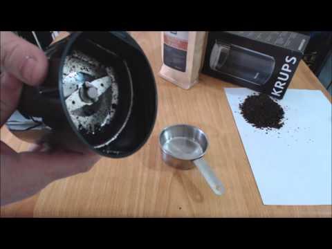 Krups F203 Coffee Grinder Review