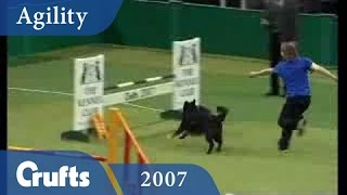 Crufts 2007 Young Kennel Club Agility Runner Up