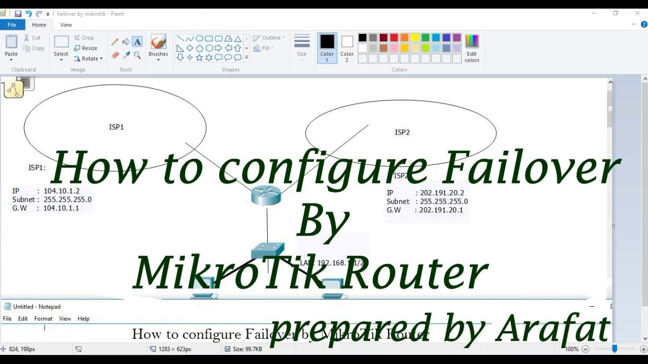 How to configure Auto Failover by MikroTik Router