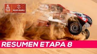Alonso roza la victoria de etapa, Sainz pierde 20 minutos | Resumen Etapa 8 Dakar 2020
