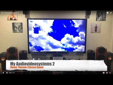 [My Audio Video Systems 2] Home Theater/Stereo Room Setup