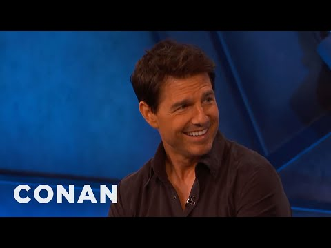 Tom Cruise On His Most Death-Defying Stunts - CONAN on TBS
