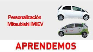 Personalización Mitsubishi iMIEV - Vehículo eléctrico