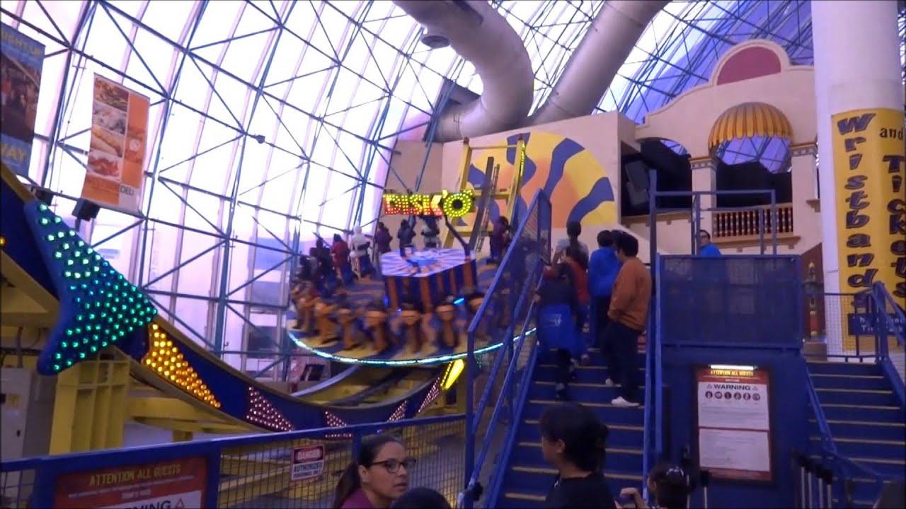 Circus Circus Las Vegas Adventuredome Theme Park Rides