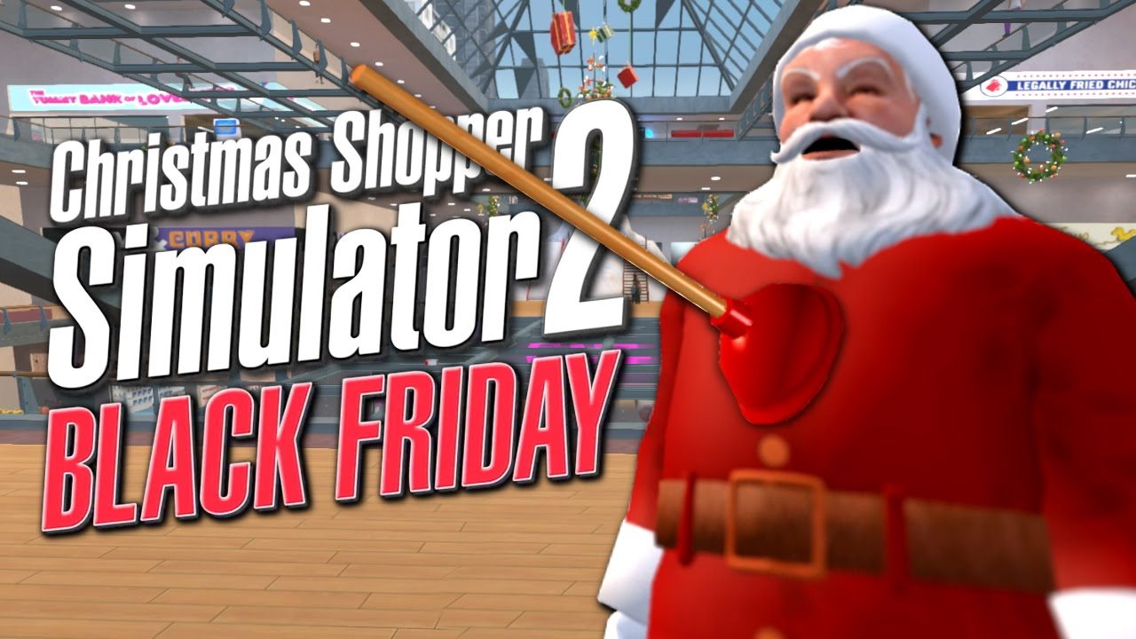 Christmas Shopping Simulator.Ice Cream Sandwich Man Saves Christmas Christmas Shopper Simulator 2 Black Friday