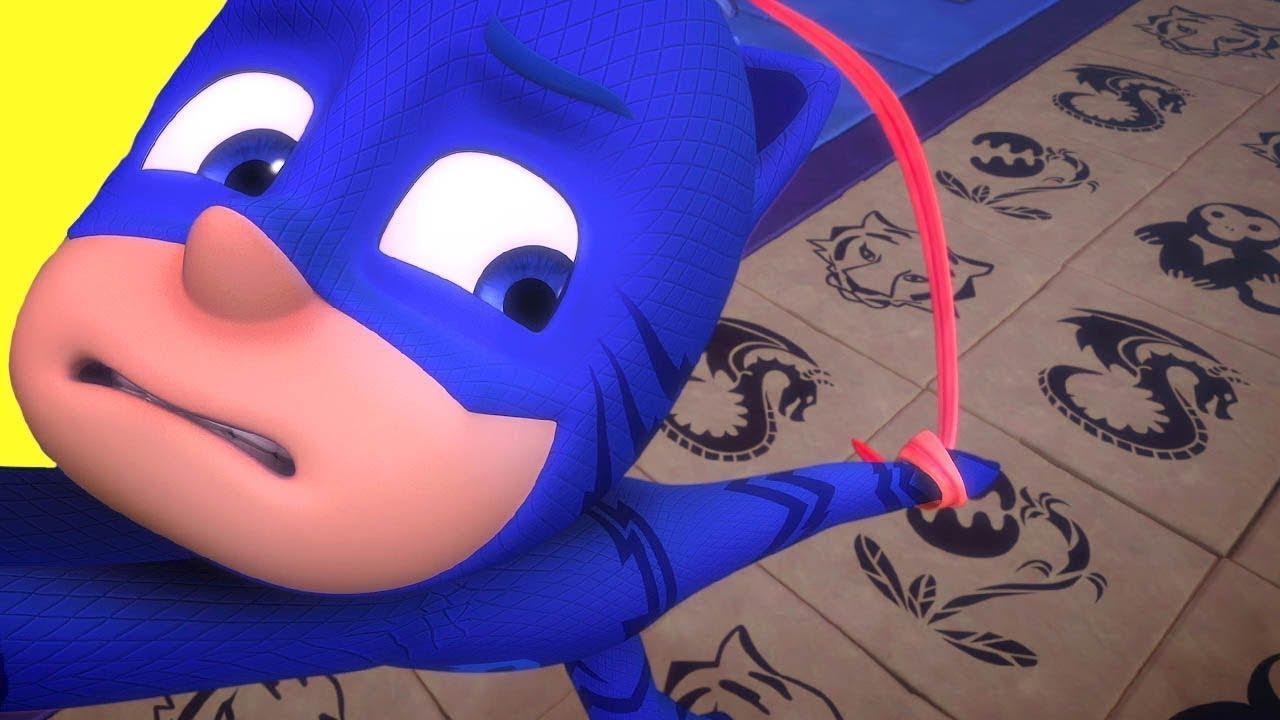 PJ Masks Toy Videos 🦇Mystery Mountain ⭐️PJ Masks 2019 ⭐️4K HD | Superhero Cartoons for Kids