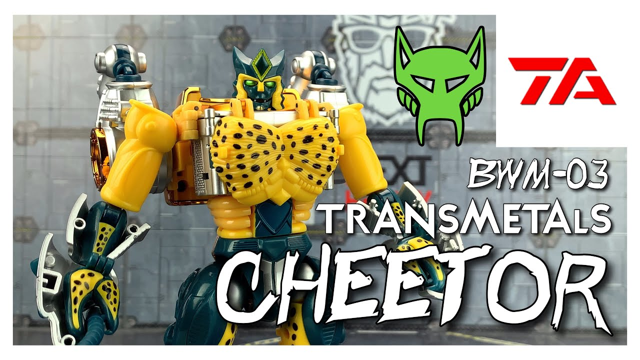 TransArt BWM-03 Metal Leopard Commander MP TM Cheetor Review by BensKOllectables