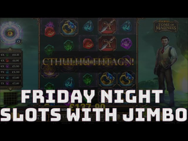 Friday Night Slots Session! With Completing Wagering, Gonzo MEGAWAYS, moon princess, deadwood etc