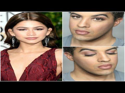 Golden Globes 2016 | Zendaya Inspired Makeup Tutorial | Talk Through