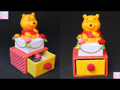 DIY  Ring Box With Cardboard /How to make Ring Organizer Box/ DIY Ring Holder/ORGANIZADOR DE ANILLOS