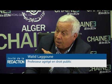 Walid Laggoune Professeur agrégé en droit public