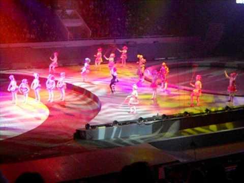 Фрагмент из шоу Цирка братьев Запашных К.У.К.Л.А