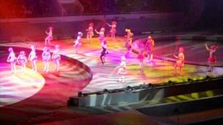 Фрагмент из шоу Цирка братьев Запашных