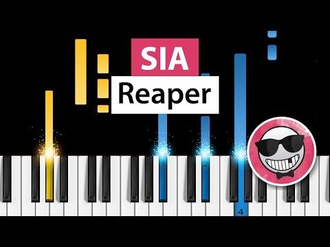Sia - Reaper - Piano Tutorial - How to Play