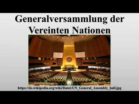 Generalversammlung der Vereinten Nationen
