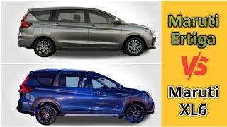 Maruti Suzuki XL6 vs Maruti Suzuki Ertiga Comparison 2019