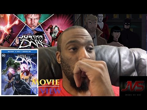 MOVIE REVIEW of JUSTICE LEAGUE DARK (2017)