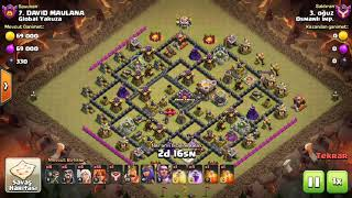 Clash Of Clans Perfect War by Osmanlı İmp. 387. Victory