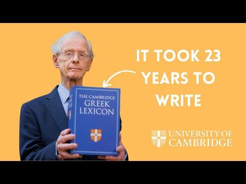 The Cambridge Greek Lexicon
