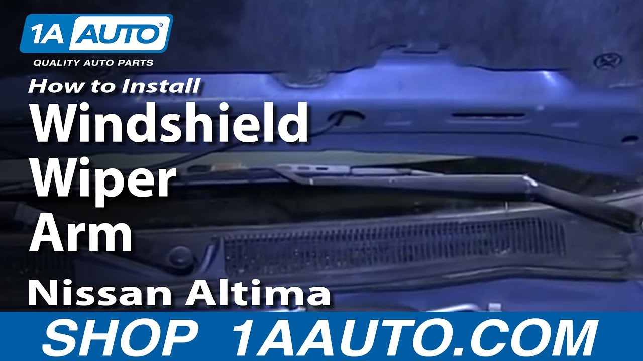 1998 Nissan Sentra Windshield Wiper Wiring Diagram Enthusiast 2010 How To Install Replace Arm 01 Altima Rh Youtube Com 2001