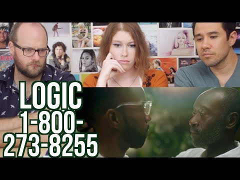 Logic - 1-800-273-8255  REACTION!!! ft. Alessia Cara & Khalid