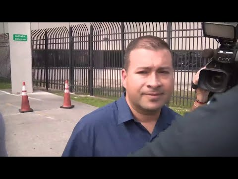 Officer Walks Out Of Miami-Dade County Jail After He Was Arrested For Battery