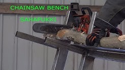 Sahapukki DIY Chainsaw Bench