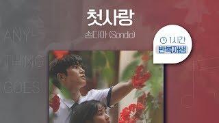 Gambar cover 첫사랑 (어쩌다 발견한 하루 OST PART.03) - 손디아(Sondia)  | 1시간 연속 듣기