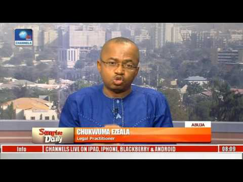 Nigeria's Executive Is More Corrupt Than Any Other Arm Of Government - Legal Practitioner Pt 4