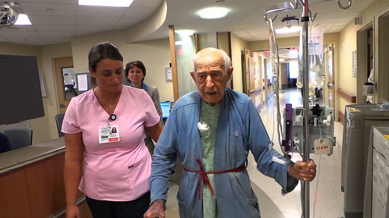 sorrento sung by 100 year old at St  Vincent's Medical Center Bridgeport CT