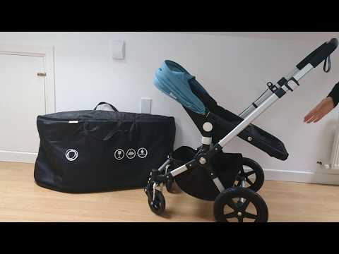 How To Put Bugaboo Cameleon 3 In The Bugaboo Frog Transport Bag.