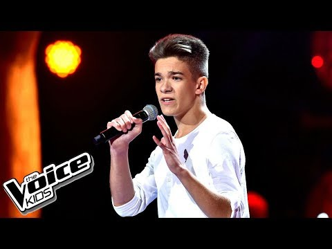 "Kuba Szmajkowski – ""There's Nothing Holdin' Me Back"" – Przesłuchania – The Voice Kids Poland"