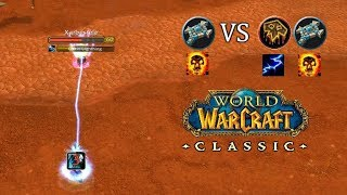 Rank 14 Dueling Shaman and SP | WoW Classic PvP Priest Shadow