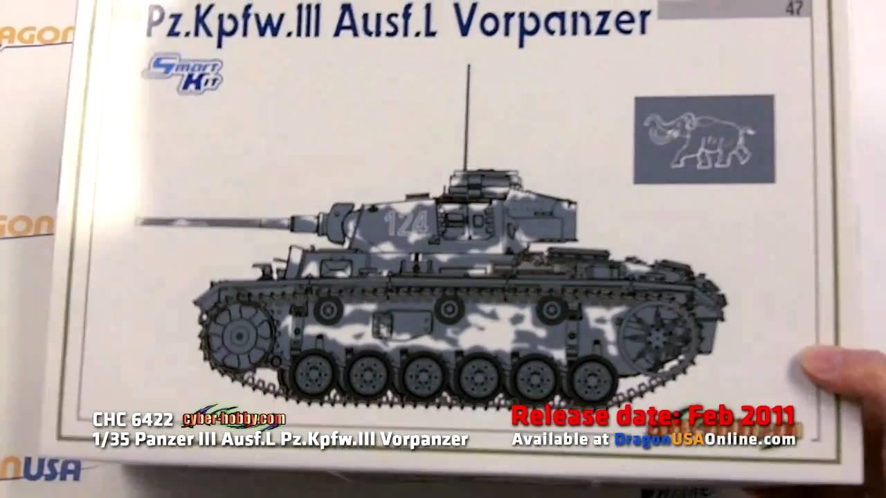 1 35 Cyber Hobby Panzer Iii Ausf L Pz Kpfw Iii Vorpanzer