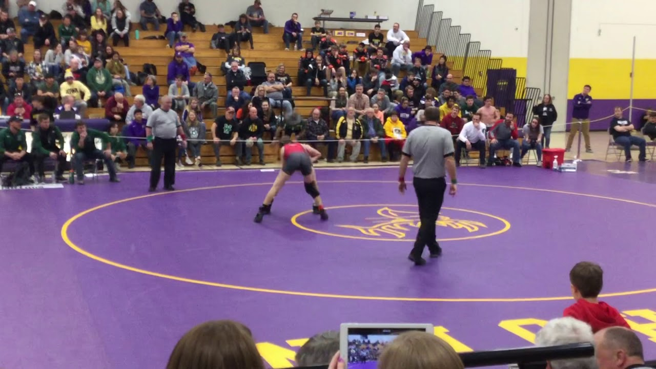 Wrestling: VIDEO: Waterford's Halter disqualified from individual