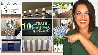⭐️Absolute TOP 10 Best TRASH TO TREASURE DIY Decor Ideas On a Budget!