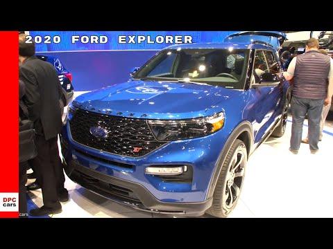 2020 Ford Explorer ST & Hybrid