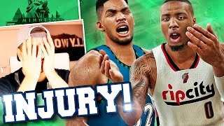 nba 2k17 timberwolves mygm 14 injury at the worst time possible