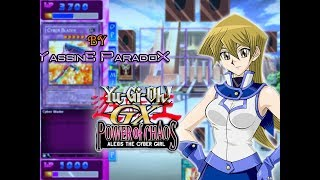 Yu-Gi-Oh! GX Power Of Chaos Alexis The Cyber Girl gameplay LINK DOWNLOAD: