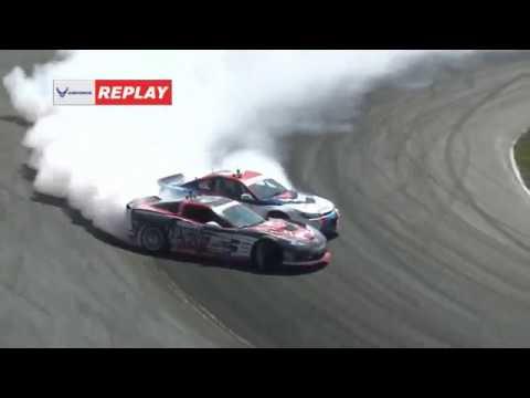 Formula DRIFT Orlando Top 16 Livestream Replay 2018