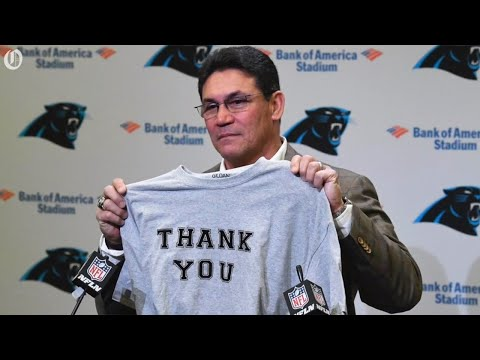 Ron Rivera bids farewell to the Carolina Panthers