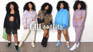 FALL OUTFITS! Fall Fashion lookbook | jasmeannnn
