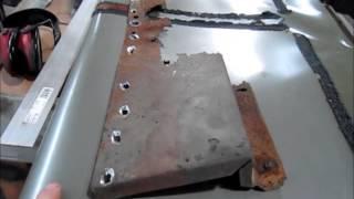 1965 Galaxie inner fender repair