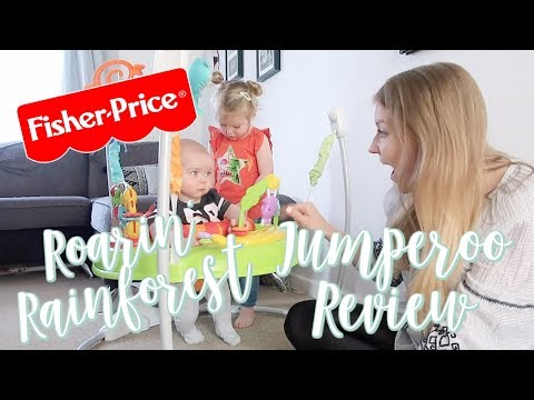 FISHER-PRICE ROARIN' RAINFOREST JUMPEROO REVIEW | #AD