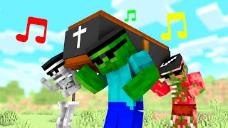 Download lagu Coffin Dance Meme in Monster School - Minecraft Animation