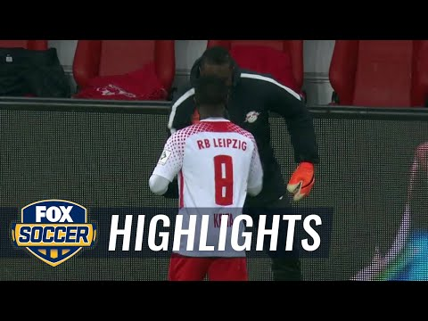 RB Leipzig vs. FC Augsburg | 2017-18 Bundesliga Highlights