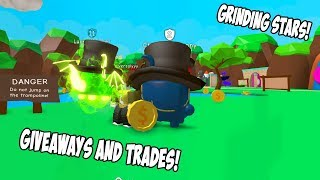 TRADING FOR OP PETS! GIVEAWAYS AND TRADE BUBBLE GUM SIMULATOR - ROBLOX