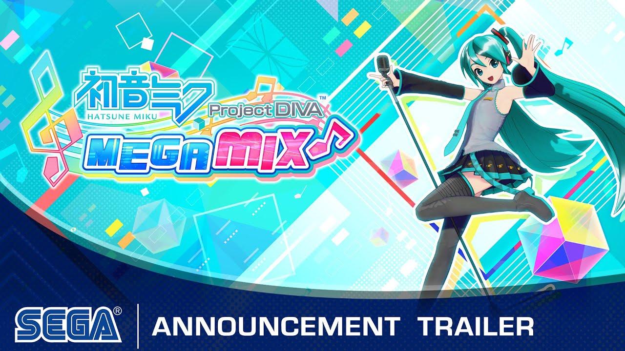 Hatsune Miku: Project DIVA MEGA Mix announced for Nintendo