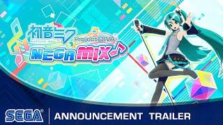 Hatsune Miku: Project DIVA Mega Mix | Announcement Trailer