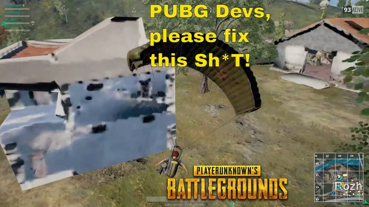 Playerunknown S Buildings Not Loading